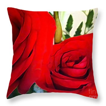Throw Pillow featuring the photograph Very Well Connected by Gayle Price Thomas