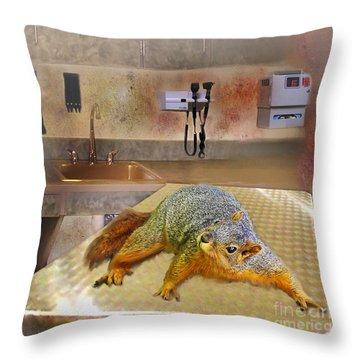 Vet Office Throw Pillow