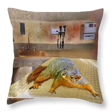 Vet Office Throw Pillow