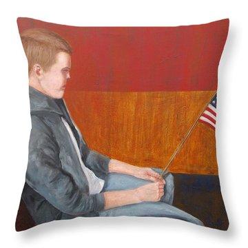 Veterans Day Throw Pillow