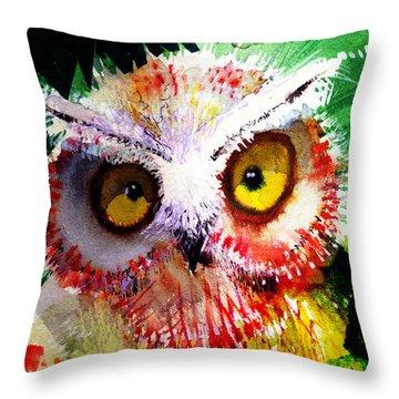 Vexed Throw Pillow
