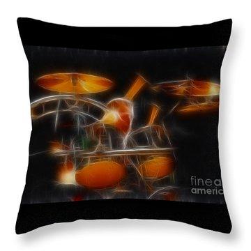 Vh-alex-balance-gb32-fractal Throw Pillow by Gary Gingrich Galleries