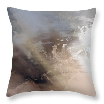Vi - Horse Lords Throw Pillow