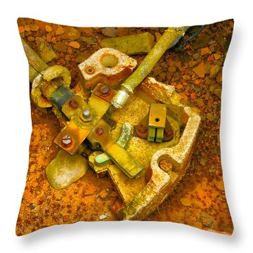 Vibrant Controller Throw Pillow