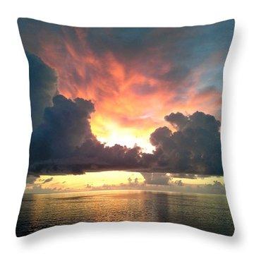 Vibrant Skies 2 Throw Pillow