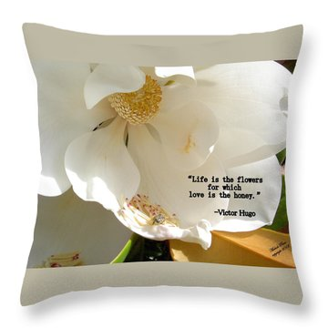 Victor Hugo 2 Throw Pillow