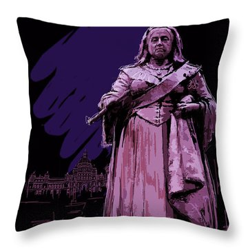 Victoria  Art 008 Throw Pillow by Catf
