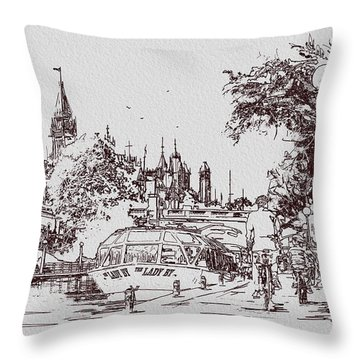 Victoria Art 013 Throw Pillow by Catf
