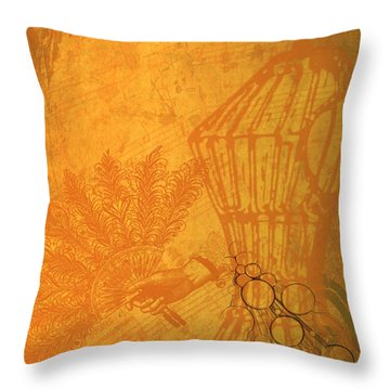 Victoria Throw Pillow by Kylie Sabra