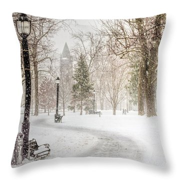 Victoria Park Throw Pillow