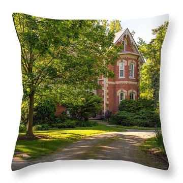 Victorian 2 Throw Pillow by Steve Harrington