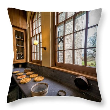 Victorian Baking Throw Pillow by Adrian Evans