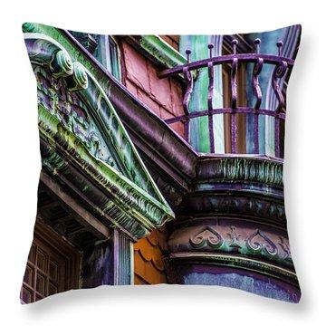 Victorian Color Throw Pillow
