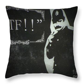 Policemen Throw Pillows