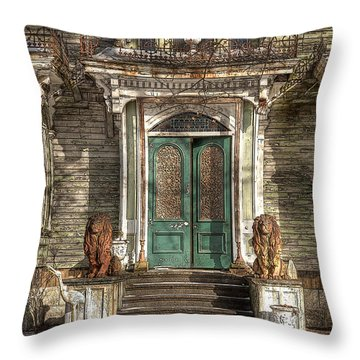 Victorian Entry Throw Pillow