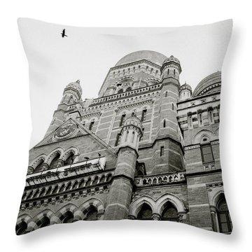 Victorian India Throw Pillow