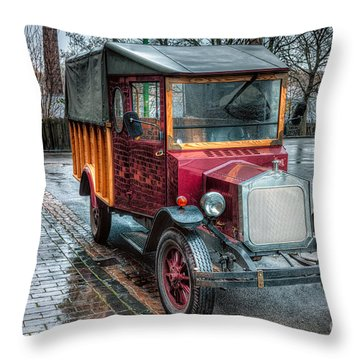 Victorian Replica Throw Pillow by Adrian Evans