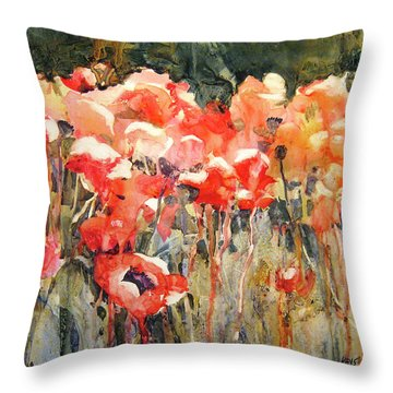 Victor's Longest Day Throw Pillow