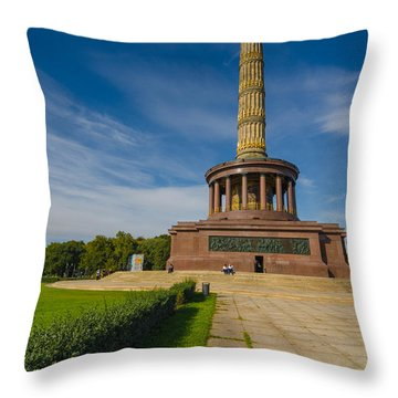 Victory Column Throw Pillow