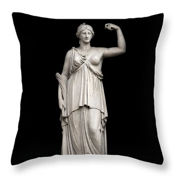 Victory Throw Pillow by Fabrizio Troiani