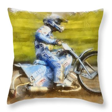 Victory Lap Throw Pillow
