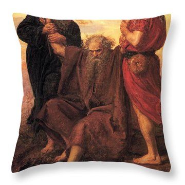 Victory  O Lord Throw Pillow