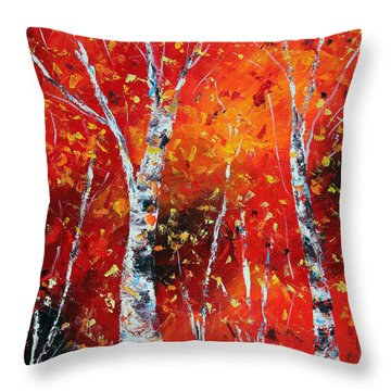 Victory's Sacrifice Panel Two Throw Pillow by Meaghan Troup