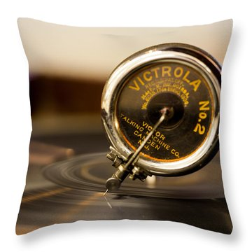 Victrola No 2 Throw Pillow