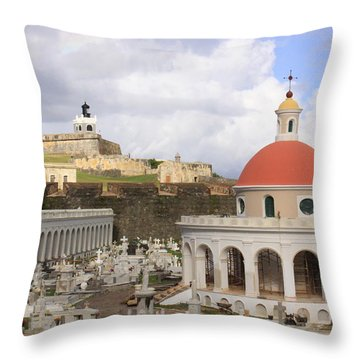 Viejo San Juan Throw Pillow