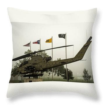 Vietnam War Memorial Throw Pillow