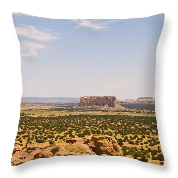 View From Acoma Mesa Throw Pillow