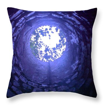Throw Pillow featuring the photograph View From Below by John Williams
