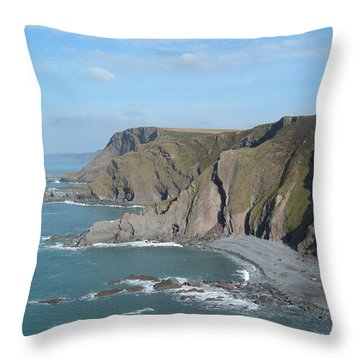 Higher Sharpnose Point Throw Pillow