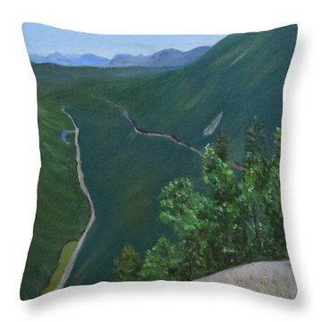 View From Mount Willard Throw Pillow