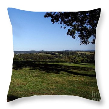 View From Wethersfield Throw Pillow