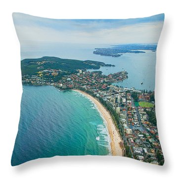 Throw Pillow featuring the photograph View by Miroslava Jurcik