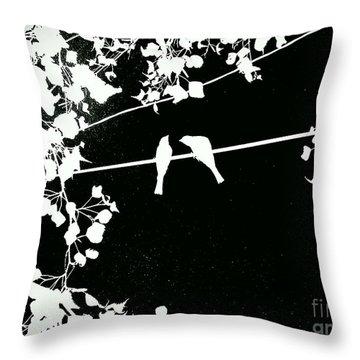 Vignette Throw Pillow