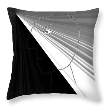 Throw Pillow featuring the photograph Viktor Rogy 1995 by Sir Josef - Social Critic - ART