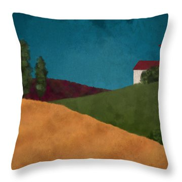 Villa I Throw Pillow