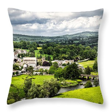 Village Of Inistioge Throw Pillow
