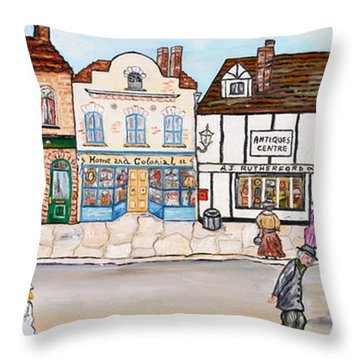 Villaggio Antico Throw Pillow