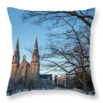 Villanova Winter Saint Thomas Throw Pillow