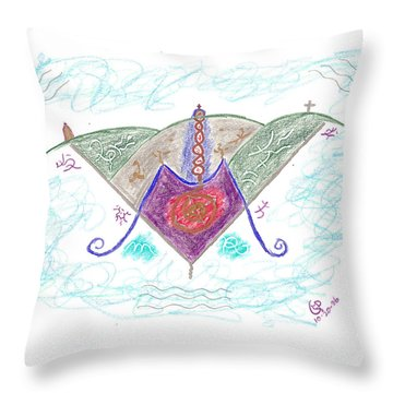 Ville-marie - Montreal Throw Pillow