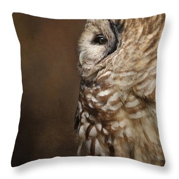 Vilma In Profile Throw Pillow