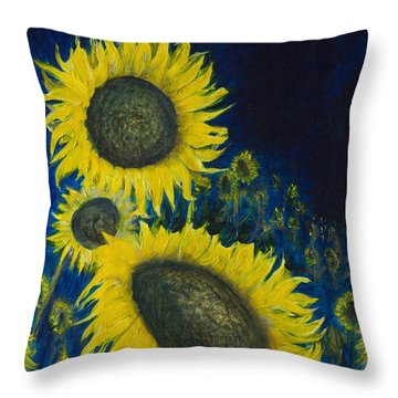 Vincent Remembered Throw Pillow