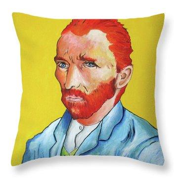 Vincent Van Gogh Throw Pillow by Venus