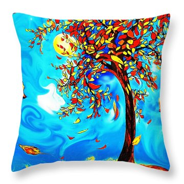 Vincent's Tree Throw Pillow