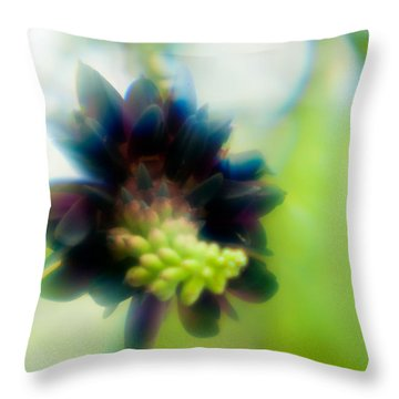 Throw Pillow featuring the photograph Vine 1 by Travis Burgess