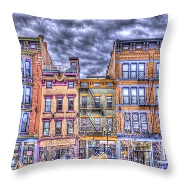 Vine Street Throw Pillow