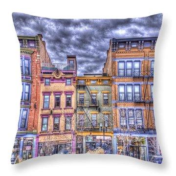 Vine Street Throw Pillow by Daniel Sheldon